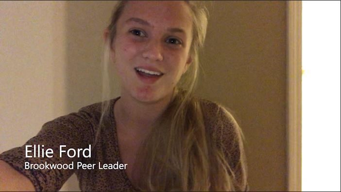 Click this image of peer leader Ellie Ford to hear her digital learning tips.