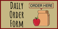 Daily Order Form