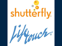 Image of Lifetouch and Sutterfly logos