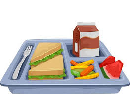 School lunch tray image