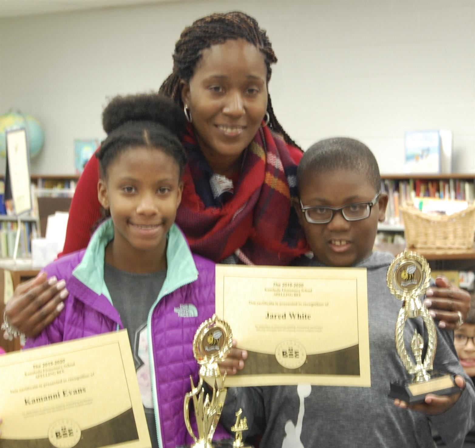 Congratulations to our Spelling Bee Champion and Finalist!