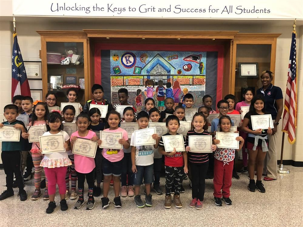 Grit Students of the Month
