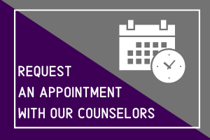 Request an appointment with our counselors
