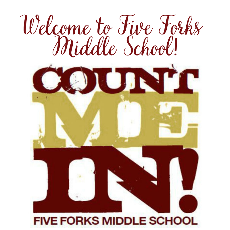Welcome to Five Forks Middle School