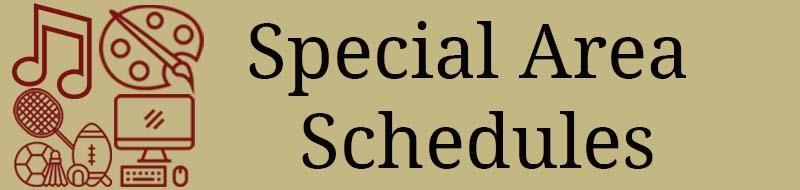 Special Area Schedules icon