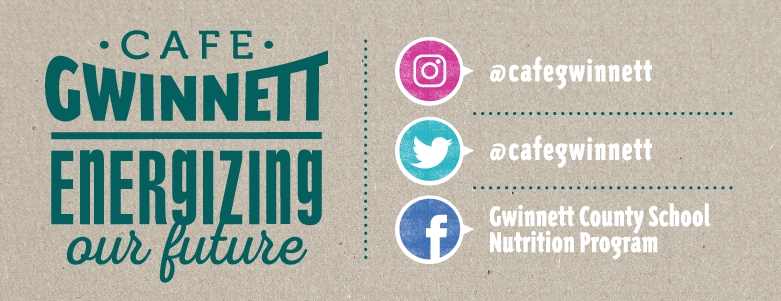 Cafe Gwinnett Energizing Our Future on Instagram, Twitter, and Facebook.