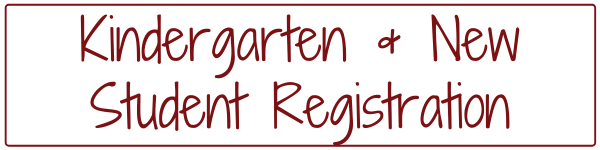 Kindergarten & New Student Registration Header