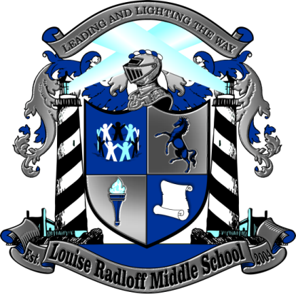 Louise radloff Middle School Logo