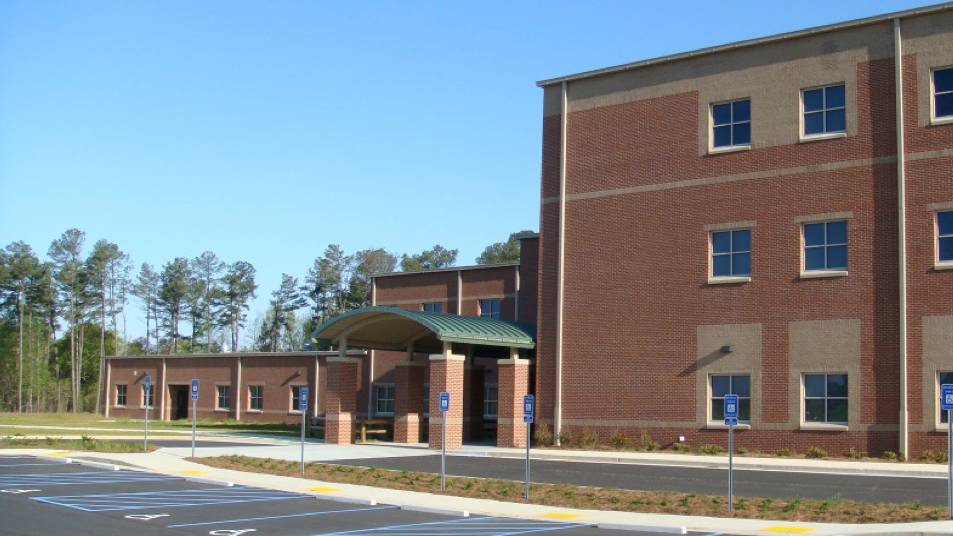 Bay creek middle school middle school building front
