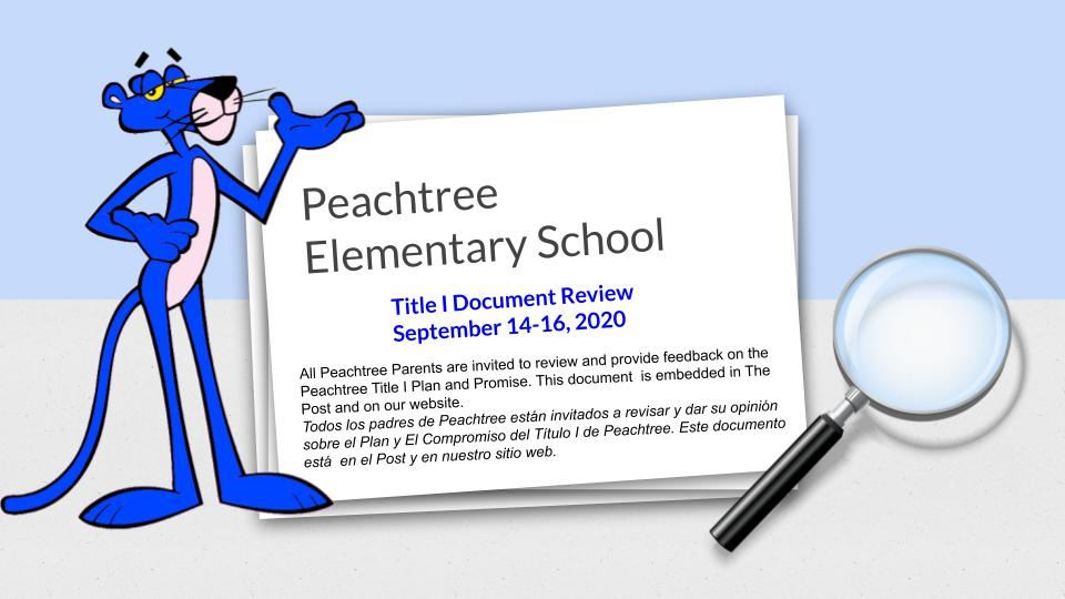 Title 1 Documents for Review