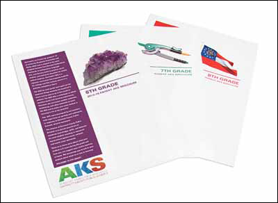 6-8 parent brochures