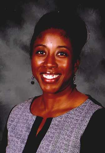 Radloff Middle School Principal, Jennifer E. Johnson