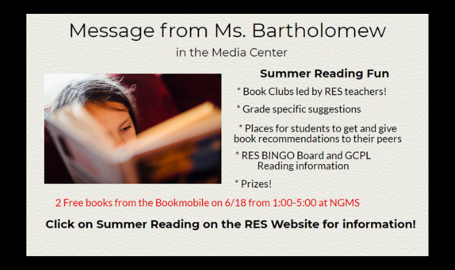 Summer Reading Fun at Riverside