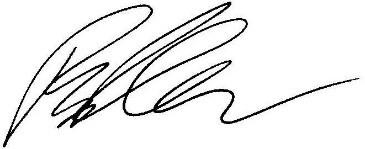 Ryan Queen's signature