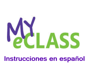 MyeClass Spanish Instructions Image