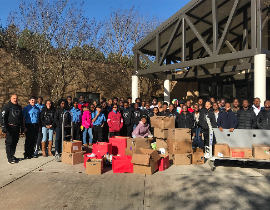 Junior Leadership Corp cares for their community