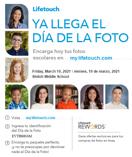 Spanish flyer for picture day info