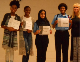 Shiloh Middle School moves on from Semi-Finals to the State Youth Toastmasters Competition