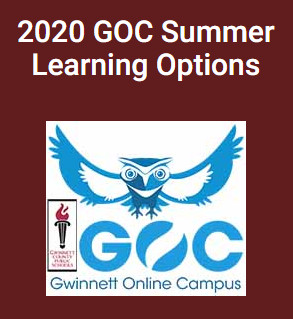 2020 GOC Summer Learning Options