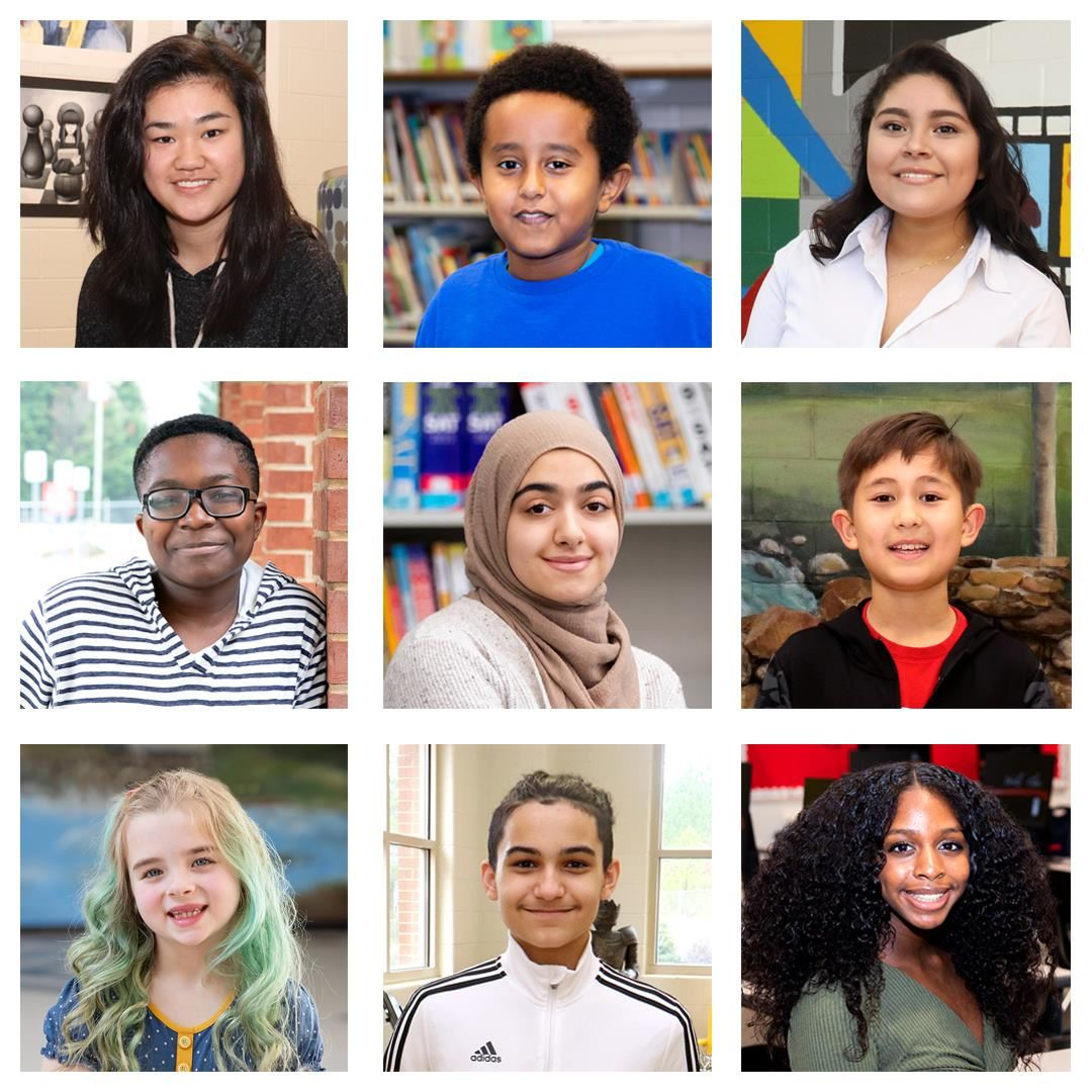 Students featured in 2020-21 SHINE campaign