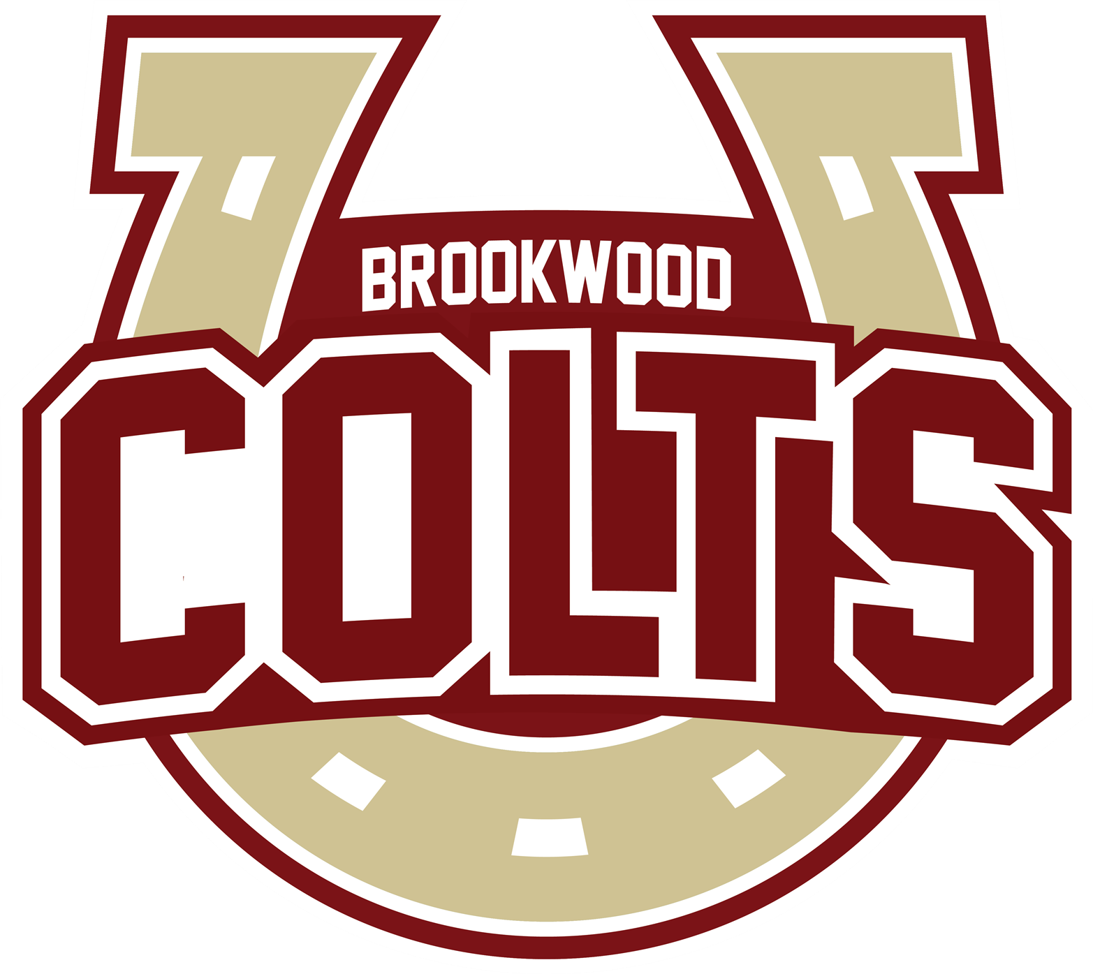 Brookwood Colts horse shoe