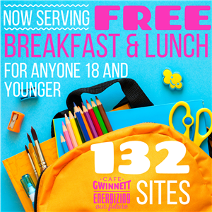 Now serving free breakfast and lunch for anyone 18 and younger
