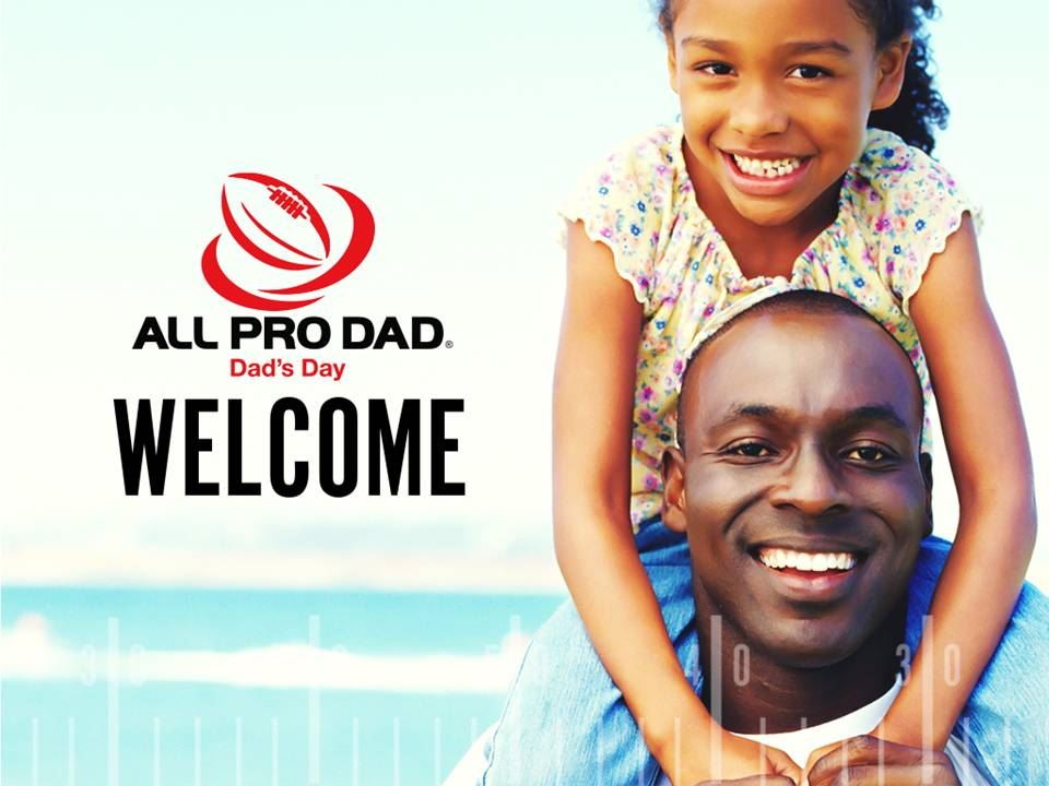 "Calling all Dads...Join us for an ALL PRO DAD""S day December 6th 7:00 am at Starling"