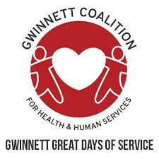 Gwinnett Coalition for Health & Human Services  Gwinnett Great Days of Service with 2 people & Hear