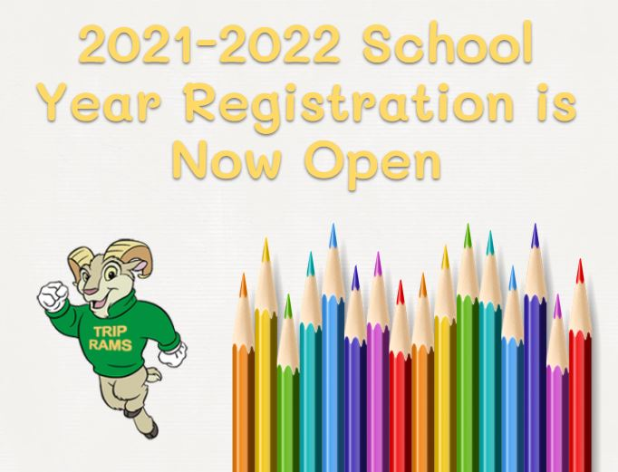 2021-2022 School Year Registration is Now Open