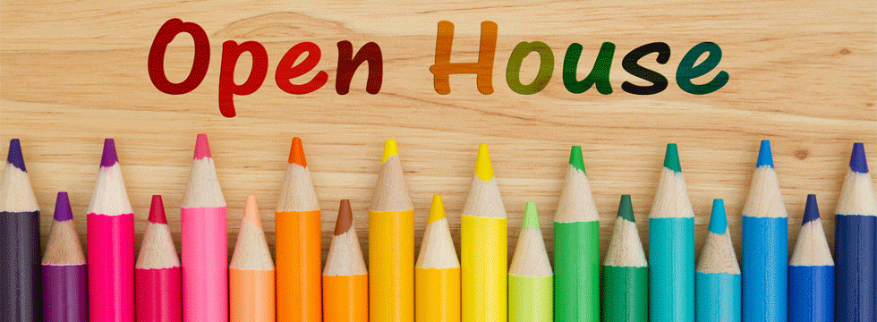 Open House with Color Pencils