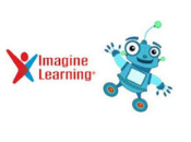 Imagine Learning with dancing robot