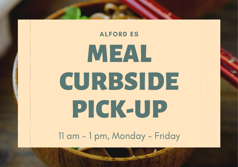 Meal Curbside Pickup