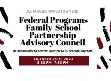 Federal Programs Advisory Council Meeting