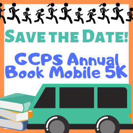 Save the Date: Book Mobile 5k. May 2, 2020.