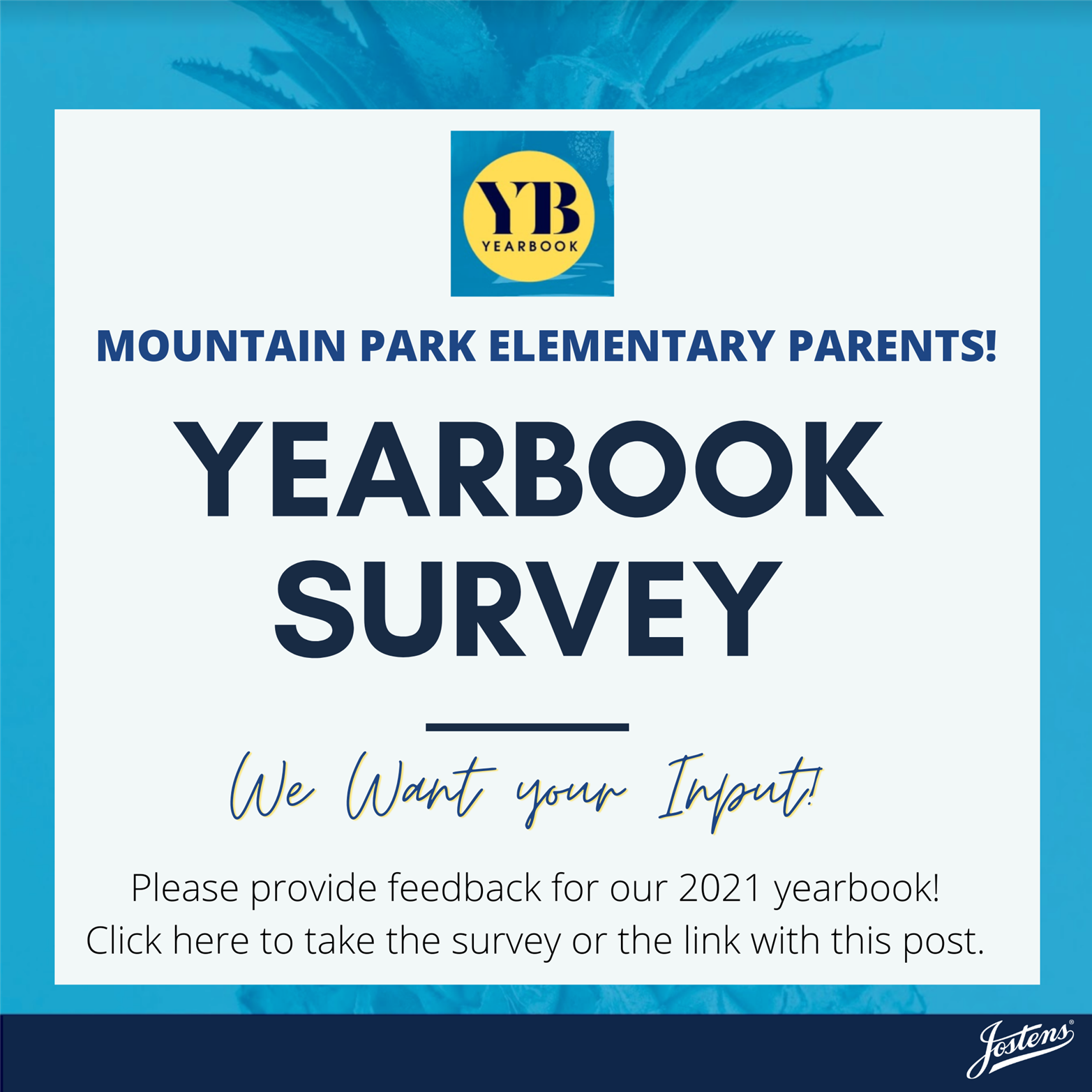 Click Here for the Yearbook Survey