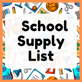 Click here for the 2020-2021 School Supply List.