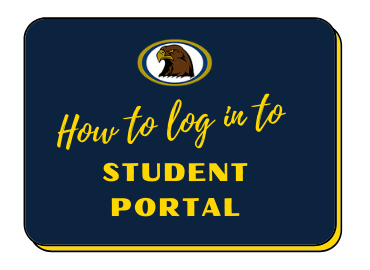 How to log in to student portal
