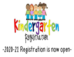 2020-21 Kindergarten Registration Is Now Open