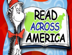 cat in the hat announcing read across a America week