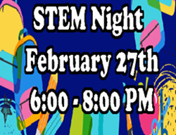 Join us for STEM Night on February 27th!