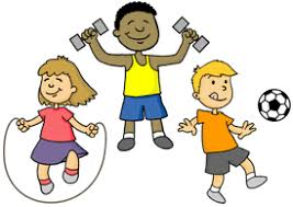 image of children participating in various physical activities
