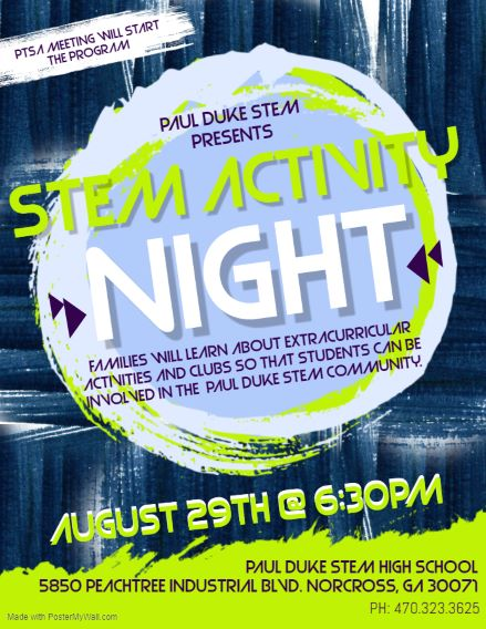 STEM ACTIVITY NIGHT