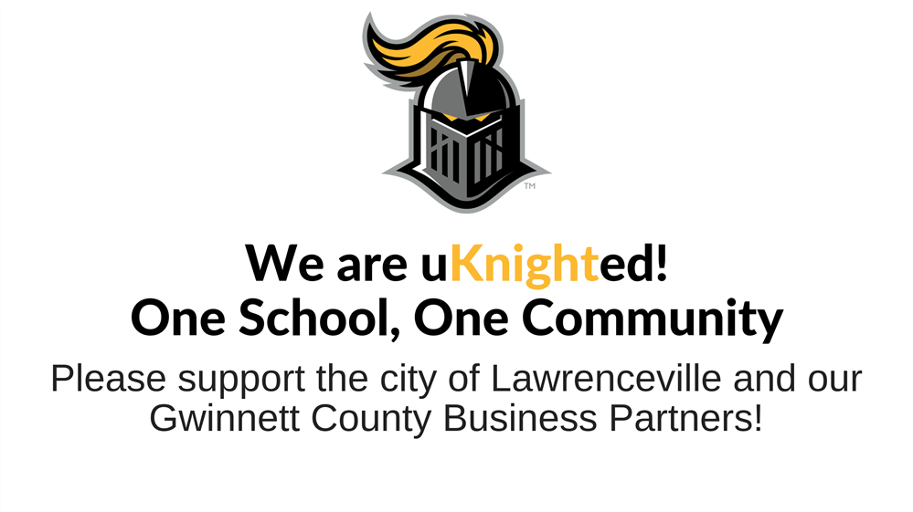 Please support the City of Lawrenceville and our Gwinnett County Business Partners.