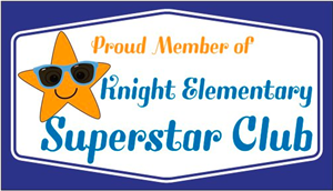 image of Knight Elementary Superstar Club Card