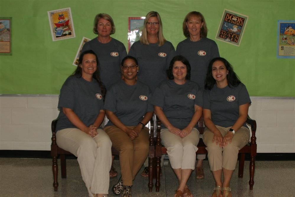 This is a picture of the first grade team.