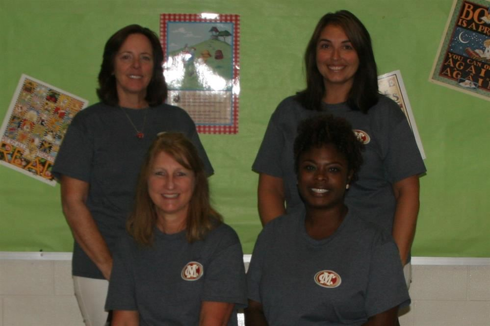 This is a picture of Fort Daniel's fifth grade team