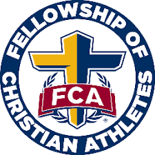 Circle with Fellowship of Christian Athletes text