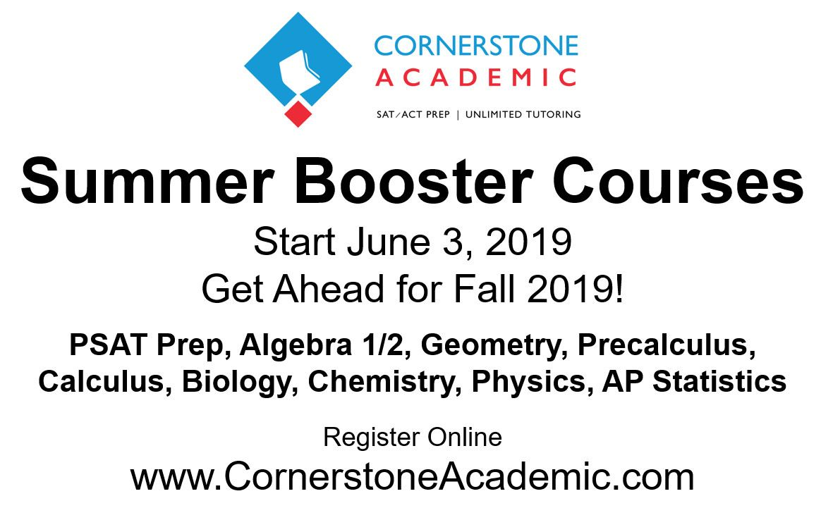 Summer Booster Courses