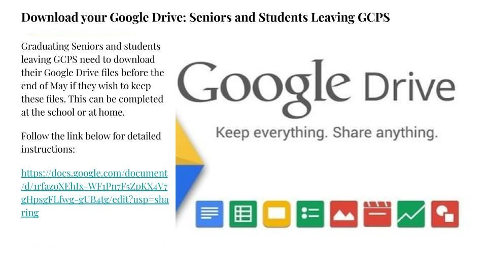 Google Drive Download Instructions