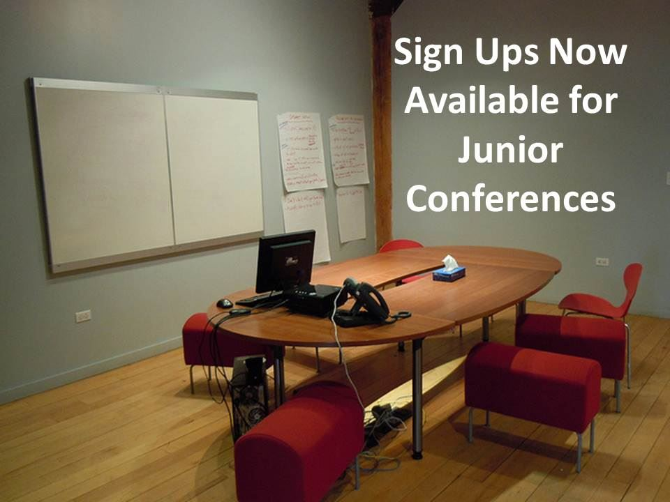 Sign ups now available for junior conferences